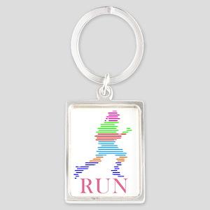 bk_run Portrait Keychain