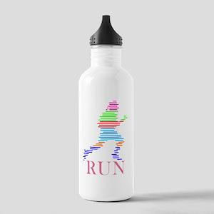 bk_run Stainless Water Bottle 1.0L