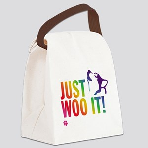 JUST WOO IT! Canvas Lunch Bag