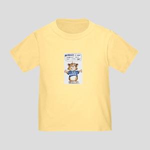 Cartoon Abrahamster Toddler T-Shirt