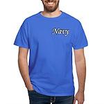 Black and White Navy Dark T-Shirt