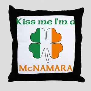 McNamara Family Throw Pillow