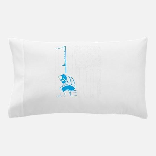 Ice Fishing Design Pillow Case