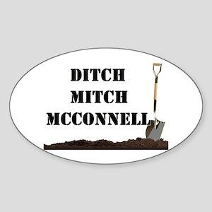 Ditch Mitch Sticker