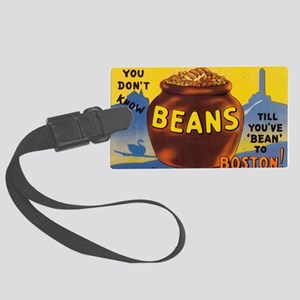 Boston Baked Beans Large Luggage Tag