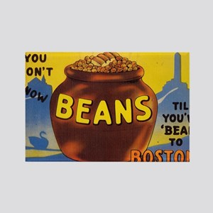 Boston Baked Beans Rectangle Magnet