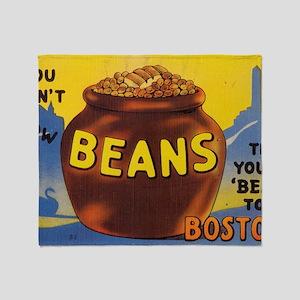 Boston Baked Beans Throw Blanket