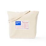 Molecule Flag Tote Bag