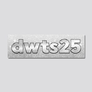 DWTS 25 Car Magnet 10 x 3