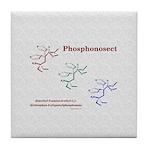 Phosphonosect Molecule Tile Coaster