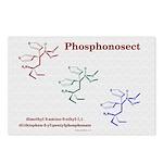 Phosphonosect Molecule Postcards (Package of 8)