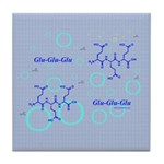 Glu-Glu-Glu molecule Tile Coaster