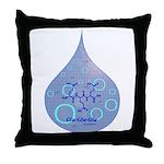 Glu-Glu-Glu molecule Throw Pillow