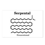 Serpental Molecule Postcards (Package of 8)