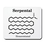 Serpental Molecule Mousepad