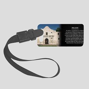 The Alamo Historical Mug Small Luggage Tag