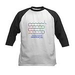 Serpental molecule Kids Baseball Jersey