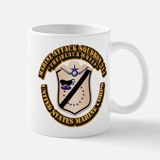 VMA-214 with Text Mug