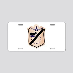 VMA-214 Aluminum License Plate