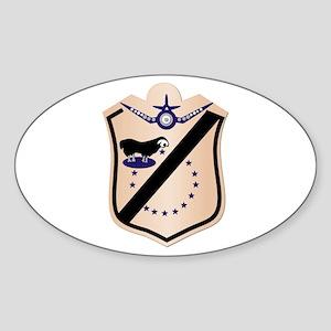 VMA-214 Sticker (Oval)