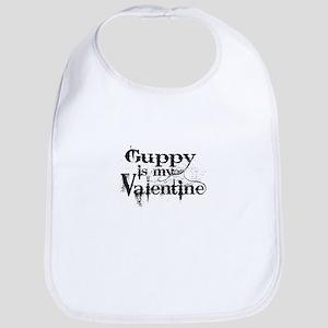 Guppy is my Valentine Bib