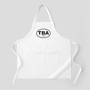 Tuba Oval Shirts and Gifts BBQ Apron