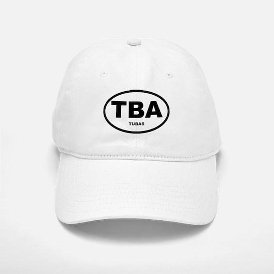 Tuba Oval Shirts and Gifts Baseball Baseball Cap