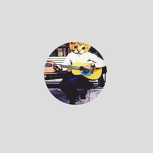 Street Cat Music Mini Button