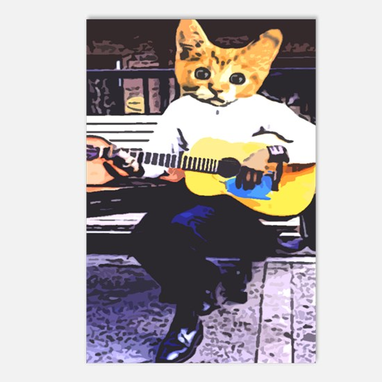 Street Cat Music Postcards (Package of 8)
