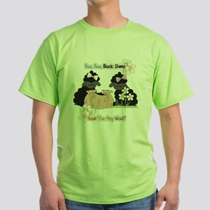 Baa Baa Black Sheep  Green T-Shirt