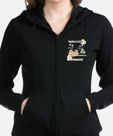 Baa Baa Black Sheep  Zip Hoodie