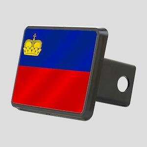Liechtenstein Flag Rectangular Hitch Cover