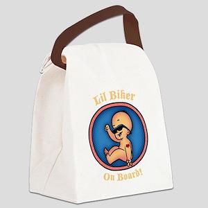 biker-womb-DKT Canvas Lunch Bag