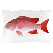 Red Snapper Pillow Case