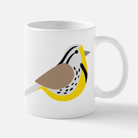 Meadowlark Bird Mugs