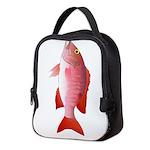 Red Snapper c Neoprene Lunch Bag