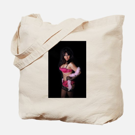 Sexy Mature Woman in Lingerie (2) Tote Bag