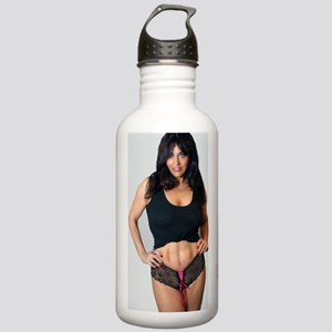 Sexy Mature Woman in L Stainless Water Bottle 1.0L