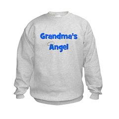 Grandma's Angel - Blue Sweatshirt