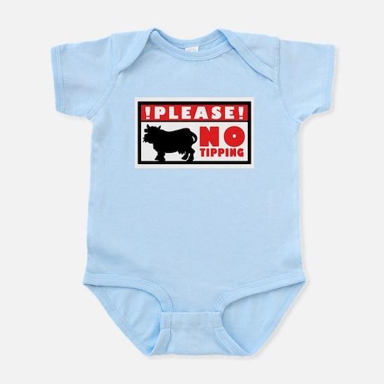 No Tipping Infant Bodysuit