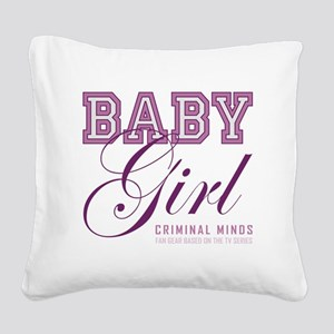 BABY GIRL Square Canvas Pillow