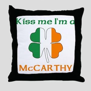 McCarthy Family Throw Pillow