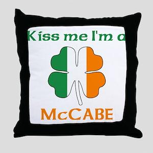 McCabe Family Throw Pillow