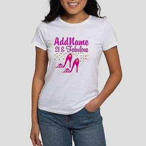 21 YR OLD DIVA Women's T-Shirt