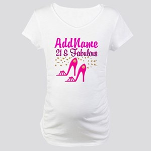 21 YR OLD DIVA Maternity T-Shirt