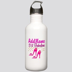 21 YR OLD DIVA Stainless Water Bottle 1.0L