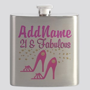 21 YR OLD DIVA Flask