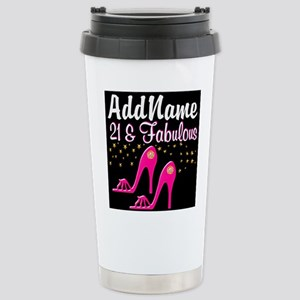 AWESOME 21ST Stainless Steel Travel Mug