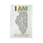 I AM Magnet (100 Pack)
