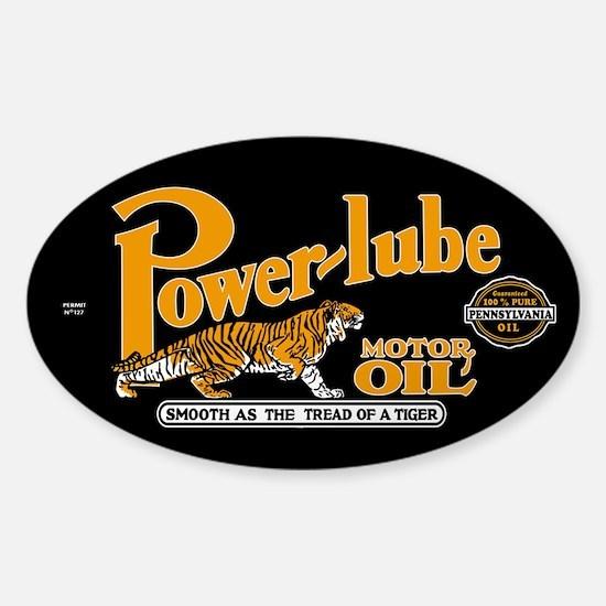 PowerLube Sticker (Oval)